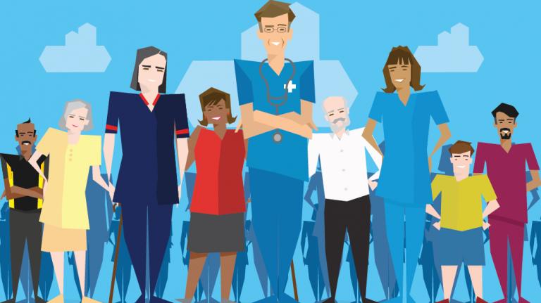 Workforce and Patients Hero